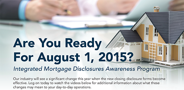 integrated mortgage disclosure awareness program