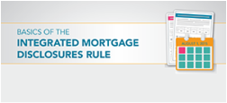 integrated mortgage disclosures